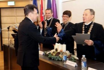 Predsjedniku HGK posebna zahvala Ekonomskog fakulteta za poticanje suradnje s gospodarstvom