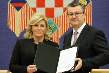 Predsjednica povjerila mandat Tihomiru Oreškoviću