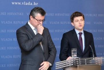Premijer Orešković i ministar Marić na press konferenciji: deficit od 3 posto je vrlo realan