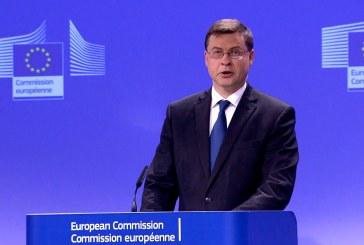 Dombrovskis: nova vlada ima obvezu riješiti ekonomske izazove