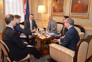 Susret premijera Orekovića i novog direktora Svjetske banke za EU