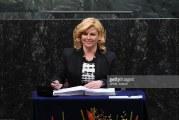Predsjednica RH u New Yorku potpisala Pariški sporazum o klimatskim promjenama
