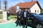 Puštena u rad prva punionica električnih automobila u Slavonskom Brodu