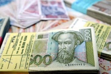 Ministarstvo financija izdalo 672 milijuna kuna trezorskih zapisa