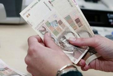 Prosječna plaća u Hrvatskoj 5.652 kune