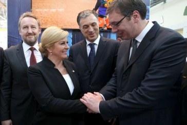 Predsjednica RH i premijer Srbije razgovarali u Mostaru o odnosima dvije zemlje