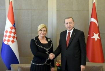 Turski predsjednik Erdogan stiže u Hrvatsku sa šest ministara i 90 poduzetnika