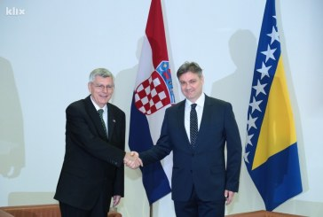 Reiner u Sarajevu: Hrvatska je prijatelj BiH i nudi joj suradnju i pomoć