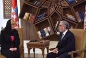 Predsjednica RH Kolinda Grabar Kitarović u Kabulu