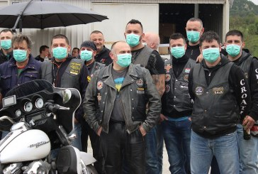 Eurobikeri s maskama na licu poslali jasnu poruku svijetu o onečišćenju zraka u Slavonskom Brodu