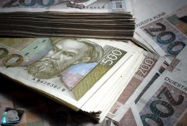 Ukupni depoziti krajem ožujka 250,3 milijarde kuna