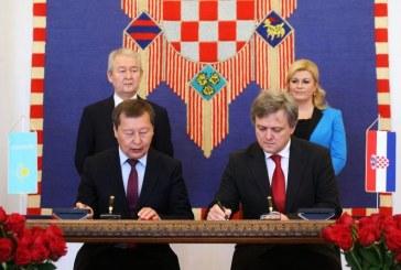 Veliki dan za hrvatsko gospodarstvo: potpisani ugovori s tvrtkama Kazahstana vrijedni 1,8 milijardi kuna