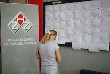 Smanjuje se nezaposlenost, na burzi rada trenutačno 224 tisuće ljudi