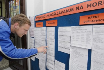 DZS: Stopa nezaposlenosti u svibnju pala na 14,4 posto