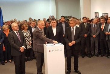 Narodna koalicija SDP-a, HNS-a, HSS-a i HSU-a potpisala predizborni sporazum