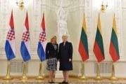 Predsjednica Kolinda Grabar Kitarović u službenom posjetu Republici Litvi