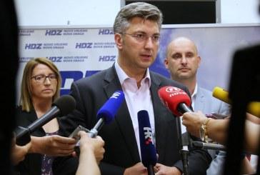 Andrej Plenković: 'Domoljubna koalicija više ne postoji, HDZ na izbore ide sam'