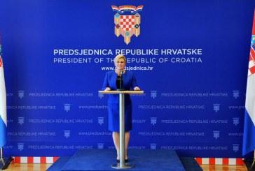 Predsjednica RH sazvala konstituirajuću sjednicu Hrvatskog sabora za 14. listopada