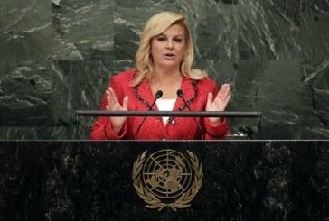 Hrvatska Predsjednica u UN-u: Sva djeca trebaju imati pravo na djetinjstvo i obrazovanje