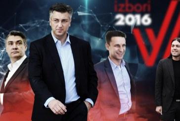 HDZ relativni pobjednik izbora u Hrvatskoj; MOST s 13 mandata opet ključ za formiranje Vlade!