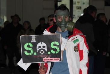 Prosvjed u Slavonskom Brodu: pravo na čisti zrak zatražilo više od tri tisuće ljudi