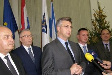 Premijer Plenković u Slavonskom Brodu: onečišćenje zraka prioritetan je problem, Vlada će poduzeti sve da se to što prije riješi