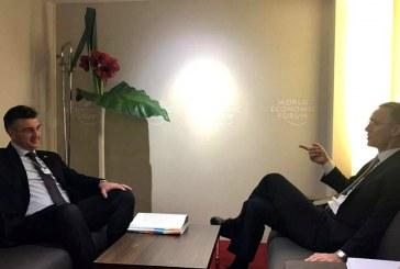 Susret premijera Plenkovića i Jensa Stoltenberga: 'NATO nas smatra pouzdanim partnerom'