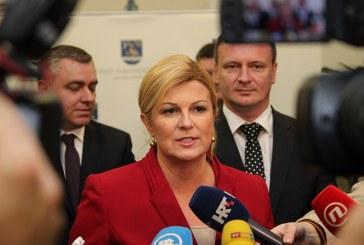 Predsjednica RH:  problem zagađenja zraka u Slavonskom Brodu moramo početi rješavati odmah