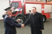 Razvoj dobrovljnog vatrogastva: DVD-u Lužani za 85. rođendan novo vatrogasno vozilo