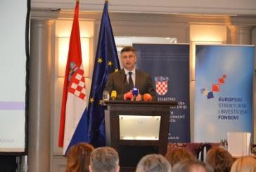 Premijer Plenković otvorio Tjedan EU fondova: zadaća nam je iskoristiti 10,6 milijardi eura za razvoj Hrvatske