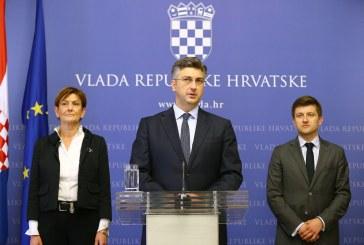 Premijer Plenković: Oporba je doživjela politički poraz, Vlada je funkcionalna i nastavlja rješavati probleme
