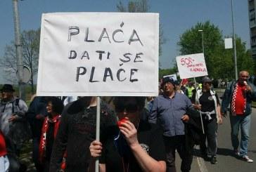 Prosvjedno obilježavanje Međunarodnog praznika rada u Slavonskom Brodu