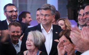 Plenković: Pobjeda na izborima ogromna je obveza